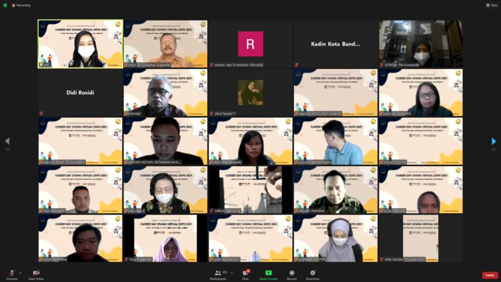 Hadirkan Perusahaan Ternama Bursa Kerja Virtual Universitas Widyatama Bantu Pencari Kerja Di Masa Pandemi