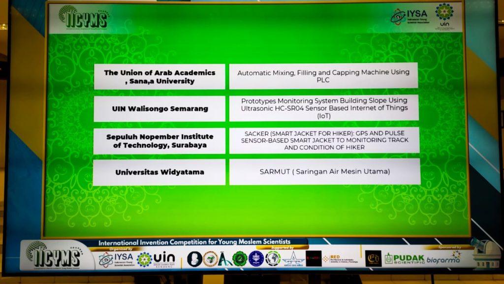 "WhatsApp Image 2021 07 06 at 10.25.59 1024x577 - Semakin Eksis Universitas Widyatama Raih ""Silver Medal"" pada ajang  ""International Invention Competition Young Moslem Scientists"" 2021"