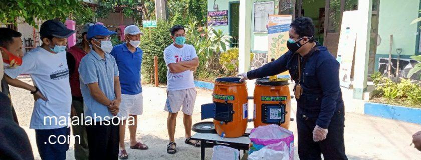 """KOMMA"" Alat Pembuat Pupuk Kompos Karya Dosen & Mahasiswa Teknik Sipil UTama Bisa Mengurangi Sampah"