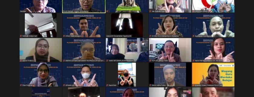 Pertukaran Pelajar Mahasiswa Prodi Bahasa Inggris UTama Dengan Fakultas Sastra & Ilmu Pendidikan Universitas Teknokrat Indonesia Implementasi Program MBKM