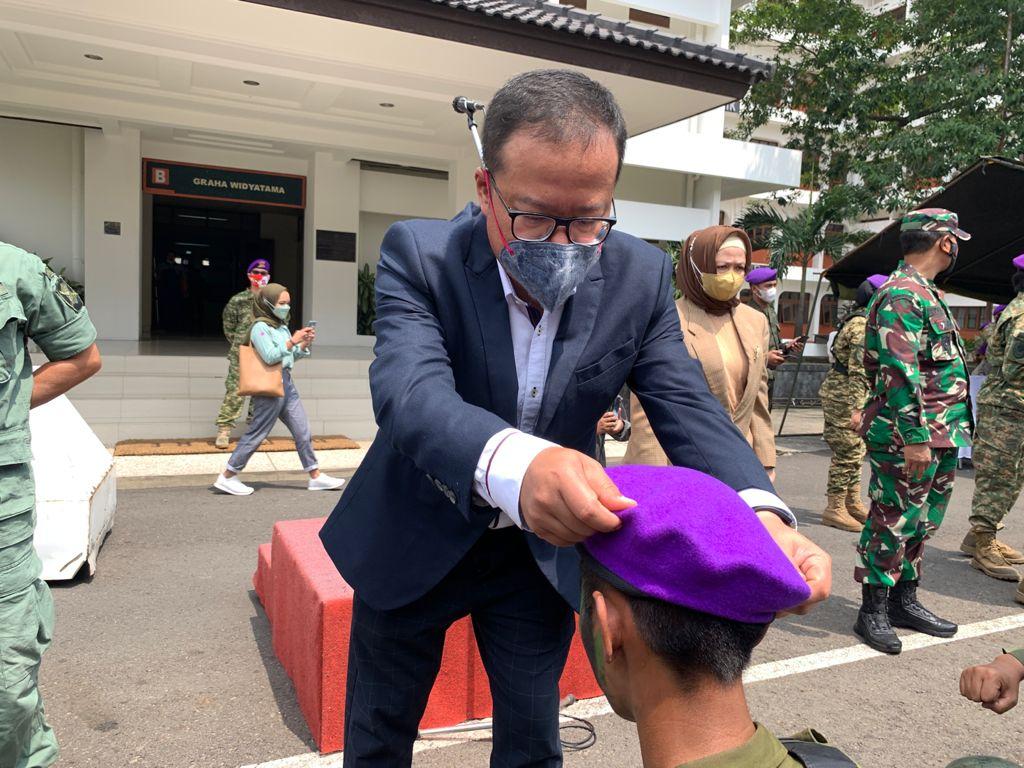 WhatsApp Image 2021 10 04 at 11.35.15 - Rektor UTama Bangga Kepada 112 Anggota Menwa Mahawarwan Jabar dan Jambi Lulus Uji Mental Serta Fisik