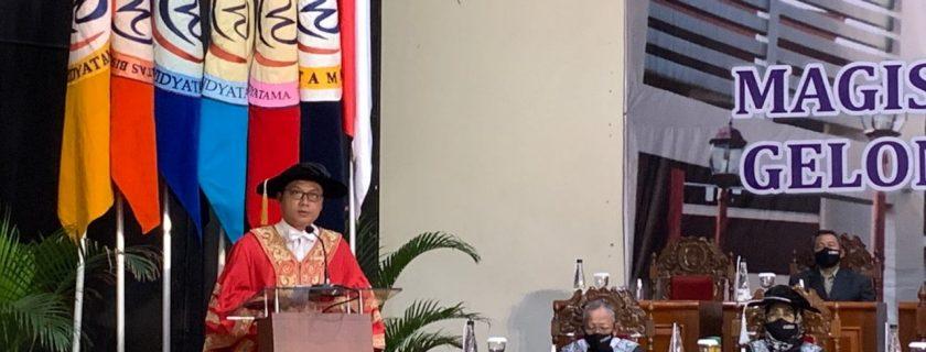 Prof Obi: Widyatama University's Form of Public Trust Becomes People's Choice